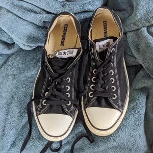 Converse Shoes - Black Chucks Men